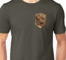 Custom Dredd Badge - Allard Unisex T-Shirt