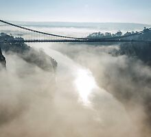 Clifton Suspension Bridge, Bristol  by Carolyn Eaton