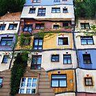 Hundertwasser Vienna by windmill