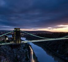 Clifton Suspension Bridge, Bristol by Carolyn Eaton