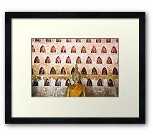 Thousand buddhas Framed Print