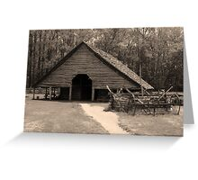 Shotgun Barn II Greeting Card