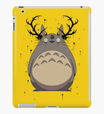 Totoro True Detective iPad Case/Skin