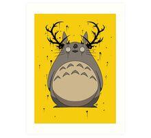 Totoro True Detective Art Print