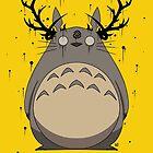 Totoro True Detective by crabro