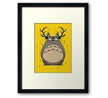 Totoro True Detective Framed Print