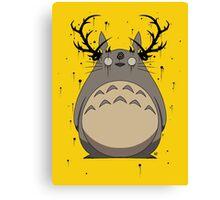 Totoro True Detective Canvas Print