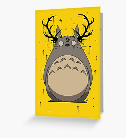 Totoro True Detective Greeting Card