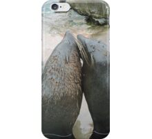 Seal Love: In the Same Direction iPhone Case/Skin