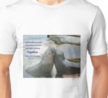 Seal Love: In the Same Direction Unisex T-Shirt