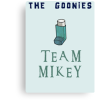 The Goonies Team Mikey - The Goonies Movie Nerdy Canvas Print