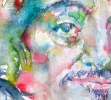 DESCARTES -watercolor portrait Sticker