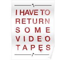 video tapes Poster