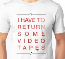 video tapes Unisex T-Shirt