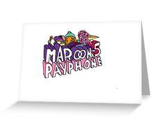 maroon 5 Greeting Card