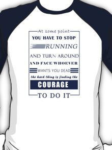 HG Collins Quote - HG Addicted T-Shirt