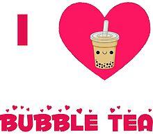 I heart bubble tea by heidilauren27