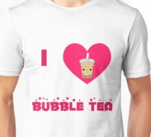 I heart bubble tea Unisex T-Shirt