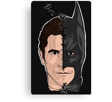 Bat-mask Canvas Print