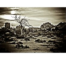 End of the Trail Photographic Print