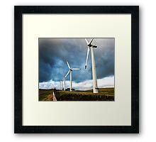 Wind Turbines Framed Print