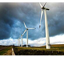 Wind Turbines Photographic Print