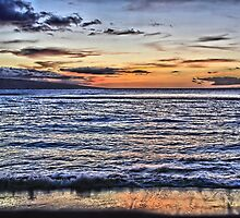 A Western Maui Sunset by DJ Florek