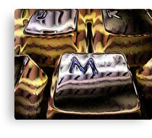 Keyboard Cakes Canvas Print