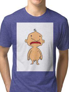naked bloke Tri-blend T-Shirt