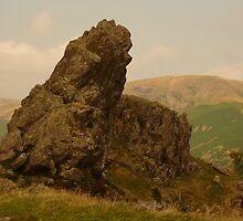 Howitzer Rock on Helm Crag by pluspixels