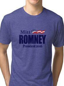 Mitt Romney 2016 Tri-blend T-Shirt