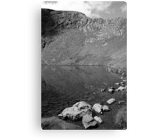 Sharp Edge and Scales Tarn Canvas Print