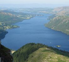 Ullswater from Heron Pike by pluspixels