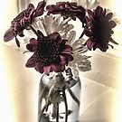 A Small Vase of Flowers by lynn carter
