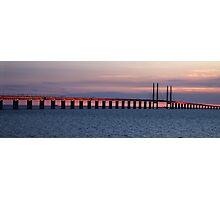 Oresund Sunset Photographic Print