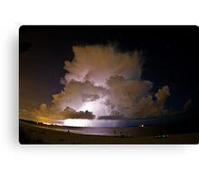 Night Thunder Canvas Print