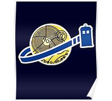 Tardis Space Company - Funnt Doctor Who Nerdy Addicted Poster