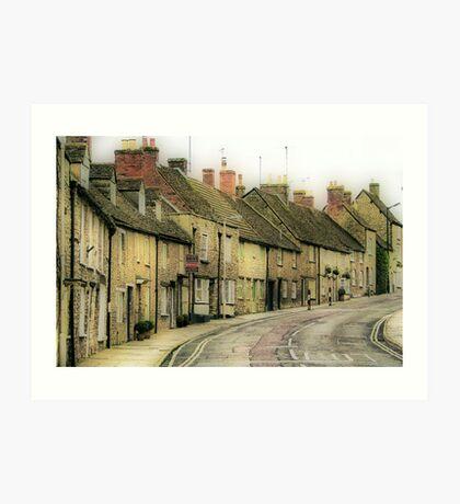 Malmesbury High Street Art Print