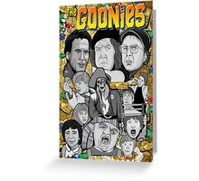 the Goonies collage Greeting Card