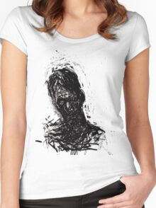 Small, Awkward & Intimate #1. Women's Fitted Scoop T-Shirt