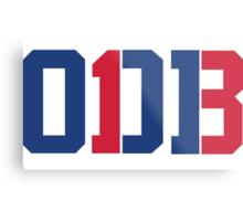 Odell Beckham Jr. | ODB 13 (Red/Blue Colorway) Metal Print