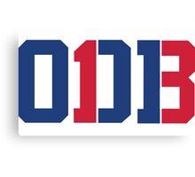 Odell Beckham Jr. | ODB 13 (Red/Blue Colorway) Canvas Print