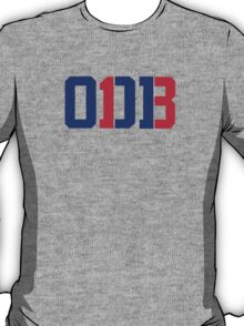 Odell Beckham Jr. | ODB 13 (Red/Blue Colorway) T-Shirt