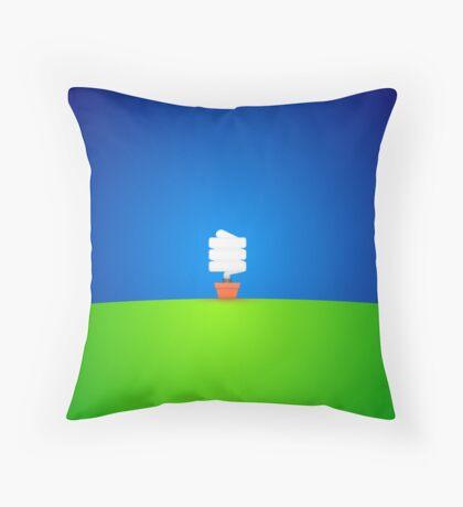 Genius. Throw Pillow