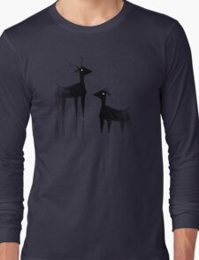 Geometric animals 3 Long Sleeve T-Shirt