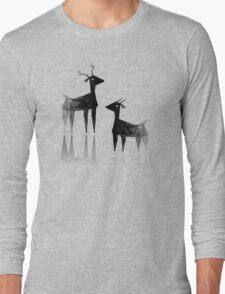 Geometric animals 3 Long Sleeve T-Shirt