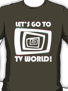 TV World White T-Shirt