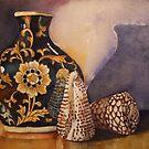 *The Black Vintage Vase*  by PERUGINA