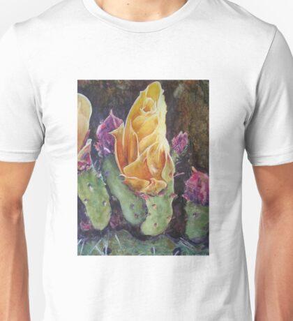 Flor de Cactus Unisex T-Shirt