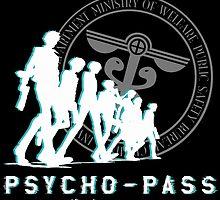 Psycho Pass Team by gamermanga